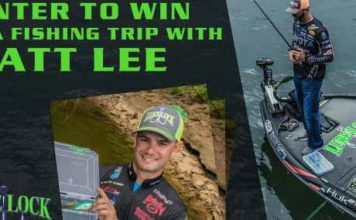 Lure Lock Fish With Matt Lee Sweepstakes