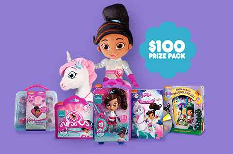 Nick Jr Nella the Princess Knight Sweepstakes