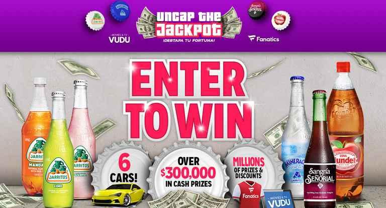 Novamex Uncap The Jackpot Instant Win Game