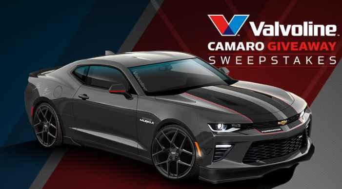 PowerNation Valvoline Camaro Giveaway Sweepstakes