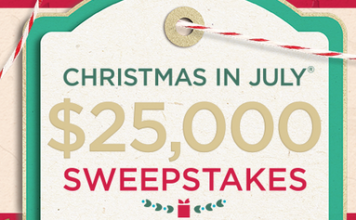 QVC Christmas in July Sweepstakes 2018