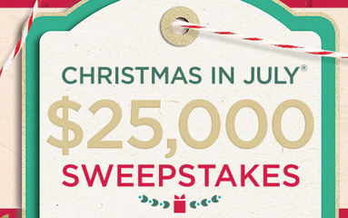 QVC Christmas In July Sweepstakes 2020