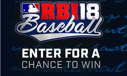 RBI Baseball 18 All-Star Xbox Sweepstakes