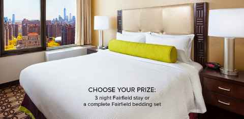 Shop Fairfield Inn & Suites Sweepstakes
