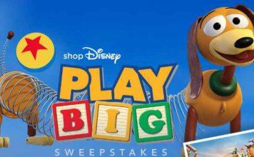 Shop Disney Play Big Sweepstakes