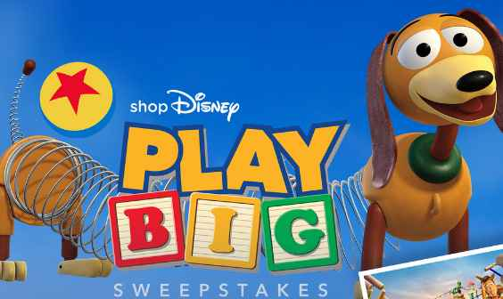 Shop Disney Play Big Sweepstakes