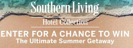 Southern Living Hotel Collection Roadtrip Sweepstakes