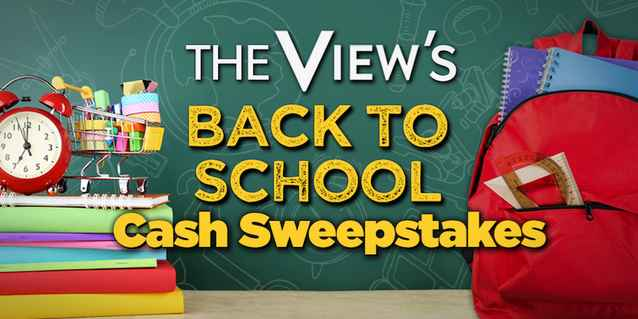 The View Back To School Cash Sweepstakes 2018