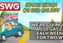 WSWG Explore Georgia Gas Card Giveaway