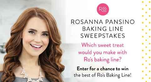 Wilton Rosanna Pansino Baking Line Sweepstakes