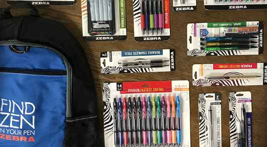 Zebra Pen Find Zen During Back to School Sweepstakes