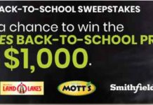 Allrecipes Back To School Sweepstakes