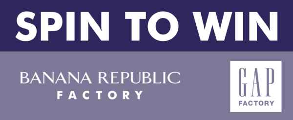Banana Republic Factory & GAP Spin To Win Labor Day Sweepstakes