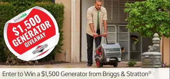 Bob Vila Generator Giveaway