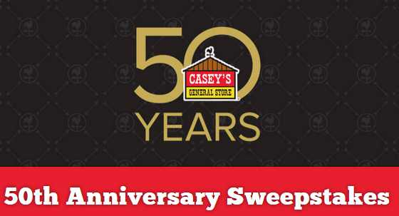 Casey's 50th Anniversary Instant Win Sweepstakes