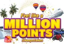 Citi Feel Like a Million Points Sweepstakes