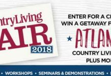 Country Living Atlanta Fair Sweepstakes