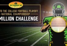 Eckrich College Football $1M Challenge Sweepstakes