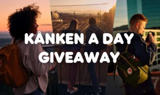Fjallraven Kanken A Day Giveaway 2021