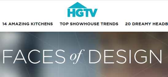 HGTV Faces Of Design Sweepstakes Giveaway