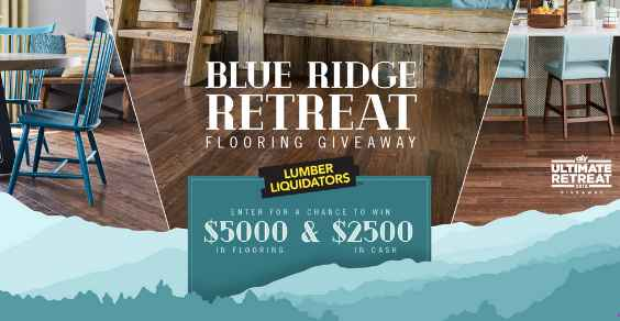 HGTV Lumber Liquidators Blue Ridge Retreat Flooring Giveaway