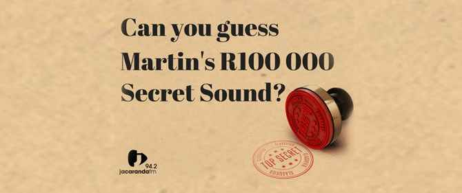 Jacaranda Secret Sound Competition