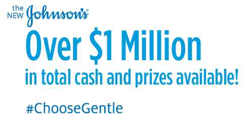 Johnson's Choose Gentle Sweepstakes