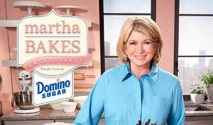 Martha Bakes Sweepstakes