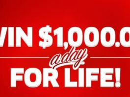 PCH Win $1000 A Day For Life Sweepstakes 2019