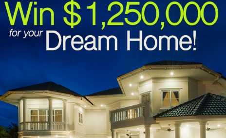 PCH Win Your Dream Home Sweepstakes 2019: Win $1,250,000 Cash