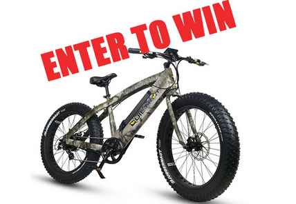 QuietKat Rover 750 Electric Mountain Bike Giveaway