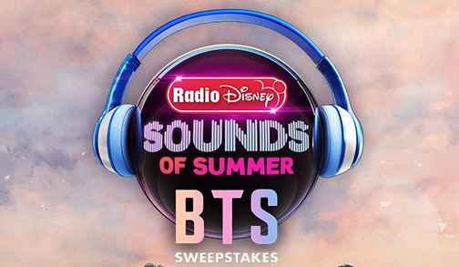 Radio Disney Sounds of Summer BTS Sweepstakes (Code Word