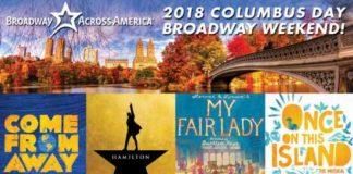 Siriusxm Columbus Day Broadway Weekend Sweepstakes