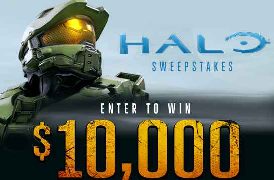 Spirit Halloween Halo Sweepstakes