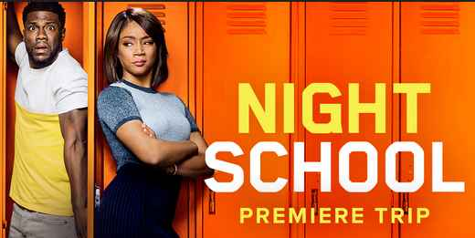 Studio Movie Grill's Night School Premier Sweepstakes
