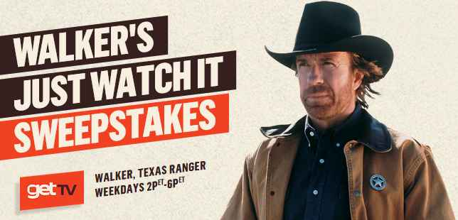 Walker's Just Watch It Sweepstakes