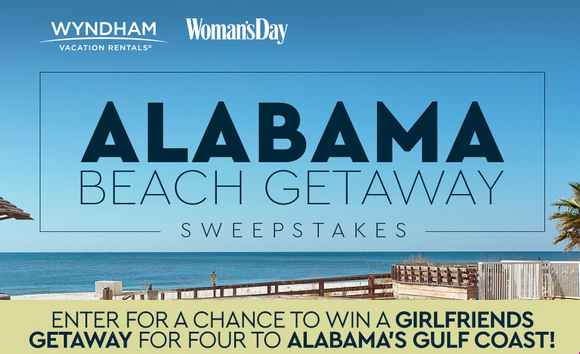 Woman's Day Alabama Girlfriends Getaway Sweepstakes