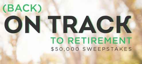 AARP Back On Track To Retirement Sweepstakes
