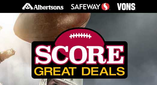 Albertsons Score Great Deals Sweepstakes
