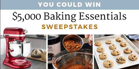 America's Test Kitchen Baking Essentials Sweepstakes