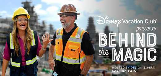 Disney Vacation Club Behind The Magic Sweepstakes