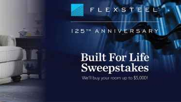 Flexsteel Built For Life Sweepstakes