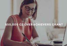 G2 Overachievers Grant Contest