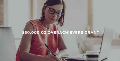 G2 Overachievers Grant Contest