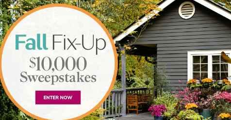 Martha Stewart Fall Fix-Up Sweepstakes