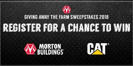 Morton Building Giving Away The Farm Sweepstakes