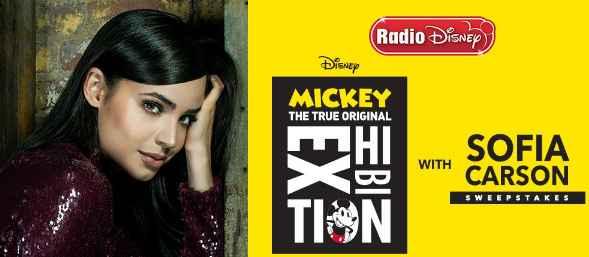 Radio Disney Mickey Sofia Carson Sweepstakes
