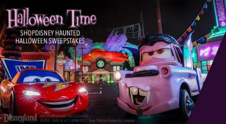 ShopDisney Haunted Halloween Sweepstakes