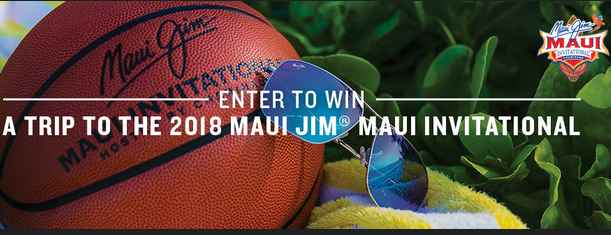 Tommy Bahama Maui Jim Summer Sweepstakes