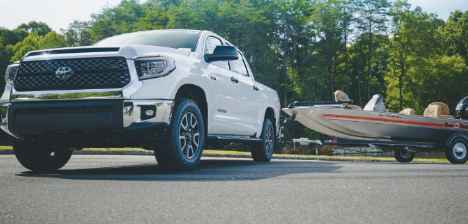 Toyota Tundra & Bass TRACKER Heritage Fishing Boat Sweepstakes